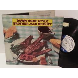 BROTHER JACK MCDUFF down home style, gatefold, BST 84322