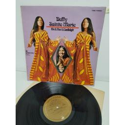 "BUFFY SAINTE-MARIE, fire & fleet & candlelight, VSD 79250, 12"" LP"