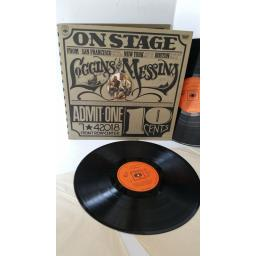 LOGGINS AND MESSINA on stage, gatefold, 2 x lp, 88014