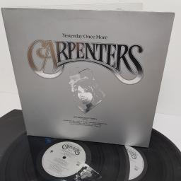 "CARPENTERS, yesterday once more, SING 1, 2x12"" LP, compilation"