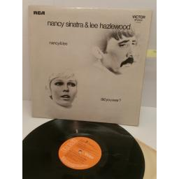 NANCY SINATRA & LEE HAZLEWOOD DID YOU EVER? SF8240