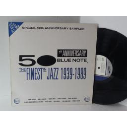 Special 50th anniversary sampler 50th ANNIVERSARY BLUE NOTE the finest in Jazz 1939 to 1989, BNX 2