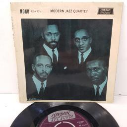 "THE MODERN JAZZ QUARTET, django, B side how high the moon, RE-K-1314, 7"" EP, mono"