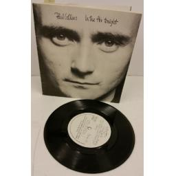 SOLD: PHIL COLLINS in the air tonight, 7 inch single, gatefold booklet sleeve, VSK102