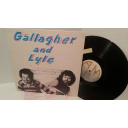 GALLAGHER AND LYLE breakaway, AMLH 68348, lyric insert
