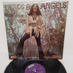 "MARTHA VELEZ, fiends & angels, SHK 8395, 12"" LP"