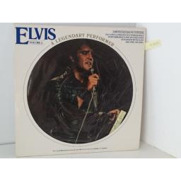 ELVIS volume 3, picture disc, inclues booklet, CPL 1 3078