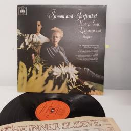 "SIMON AND GARFUNKEL, parsley, sage, rosemary and thyme, the dangliung conversation, 12"" LP, 62860"