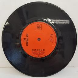 "THE MARMALADE, ob-la-di ob-la-da, B side chains, 3892, 7"" single"