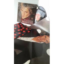 ROD STEWART foolish behaviour, poster, RVLP 11