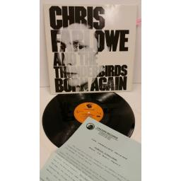 CHRIS FARLOWE & THE THUNDERBIRDS born again, BN LP 001