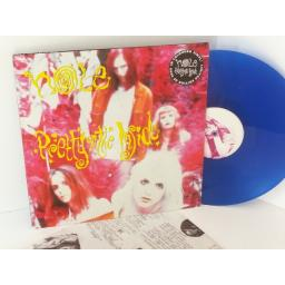 SOLD HOLE pretty on the inside, limited edition blue vinyl