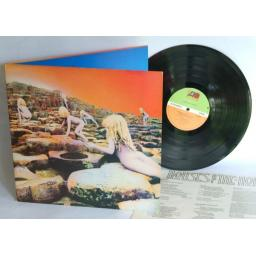 SOLD LED ZEPPELIN, House of the holy. UK pressing 1973. Matrix stamp. A3, B2. Gree...