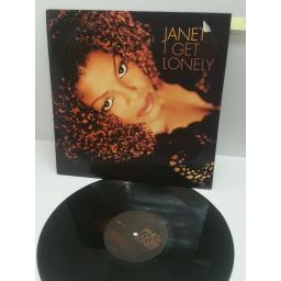 JANET I GET LONELY, 12 INCH SINGLE. LC 3098