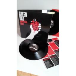GREEN DAY american idiot, gatefold, double album, 9362 487771