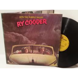 RY COODER into the purple valley, gatefold, K 44142