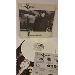 THE DAMNED phantasmagoria WHITE VINYL, MCFW 3275