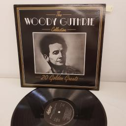 "GUTHRIE, WOODY, the woody guthrie collection, the collection of 20 golden greats, 12"" LP, DV LP 2128"