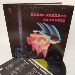 "BLACK SABBATH, paranoid, WS 1887, 12"" LP"