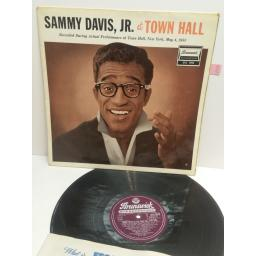 SAMMY DAVIES, JR at the town hall New York, May 1958 STEREO STA3012