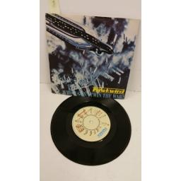 HAWKWIND who's gonna win the war?, 7 inch single, BRO 109
