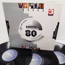 "THE GREATEST HITS OF THE 80s, STAR 2382, 3x12"" LP, compilation"