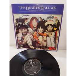 "THE BEATLES, beatles ballads, PCS 7214, 12"" LP"