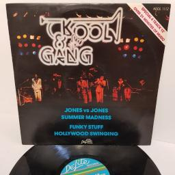 "KOOL & THE GANG, jones vs jones/summer madness, KOOL 1112, 12"" SINGLE"