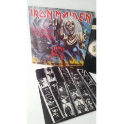 IRON MAIDEN the number of the beast, EMC 3400