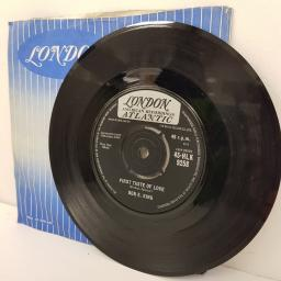 BEN E. KING, spanish harlem, B side first taste of love, 45-HLK 9258, 7 inch single