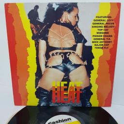 """HEAT, FADLP 026, 12"""" LP, compilation"""