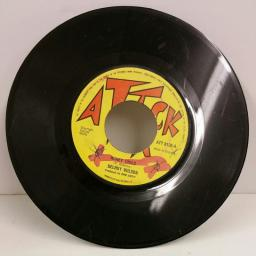 DELROY WILSON honey child / time is running out, 7 inch single, ATT 8120