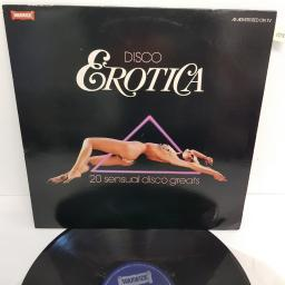 "DISCO EROTICA, WW 5108, 12"" LP, compilation"