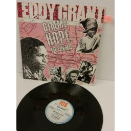 EDDY GRANT gimme hope jo'anna, 12 inch 3 track single, ICE 12 8701