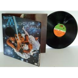 BONEY M, night flight to Venus. TOP COPY. First UK press 1978. Atlantic records.