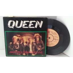 "QUEEN crazy little thing called love, 7"" single, EMI 5001"