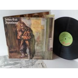 JETHRO TULL aqua lung GREEN CHYSALIS LABEL, ILPS 9145
