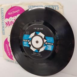 "SONNY & CHER, all I ever need is you, B side I got you babe, MU 1145, 7"" single"