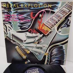 METAL EXPLOSION FROM THE FRIDAY ROCK SHOW, REH 397, 12 inch LP, compilation