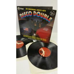 HOT CHOCOLATE, THE REAL THING, LENNY WILLIAMS disco double, gatefold, 2 x lp, NE 1024