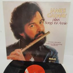 "James Galway, Charles Gerhardt, National Philharmonic Orchestra , James Galway Plays Songs For Annie, RL 83 061, 12"" LP"