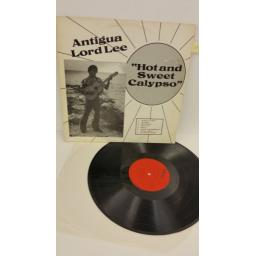 ANTIGUA LORD LEE hot and sweet calypso, signed, L001