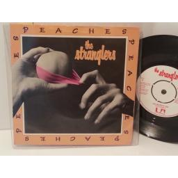 "THE STRANGLERS peaches, go buddy go, 7"" single, UP 36248"
