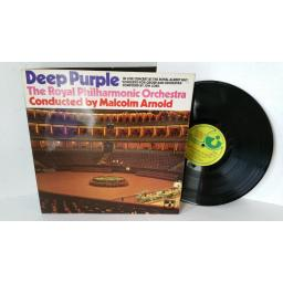 DEEP PURPLE AND THE ROYAL PHIHARMONIC ORCHESTRA CONDUCTED BY MALCOLM ARNOLD concerto for gorup and orchestra, gatefold, SHVL 767