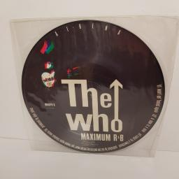 THE WHO - Athena, side A Athena, side B Won't Get Fooled Again, A Man Is A Man, WHOPX 6, PICTURE VINYL, 12''LP