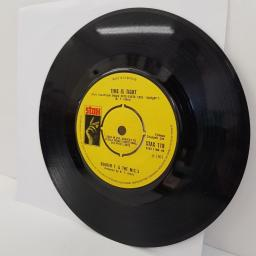 "BOOKER T. & THE M.G.s, time is tight, B side hang 'em high, STAX 119, 7"" single"