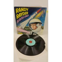 E.A.F CLARKSON randy rayder in outer space, gatefold sleeve, centre attached comic strip, SD 1