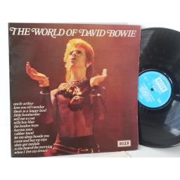 DAVID BOWIE the world of david bowie, SPA 58