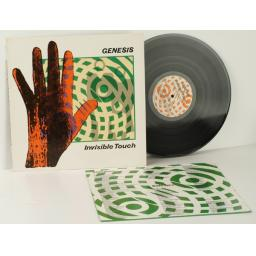 GENESIS, invisible touch embossed sleeve 1986.First UK pressing. Virgin. [Vinyl]