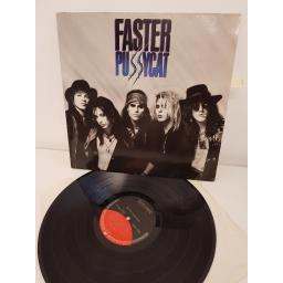 "FASTER PUSSYCAT, faster pussycat, WE 381, 12""LP"